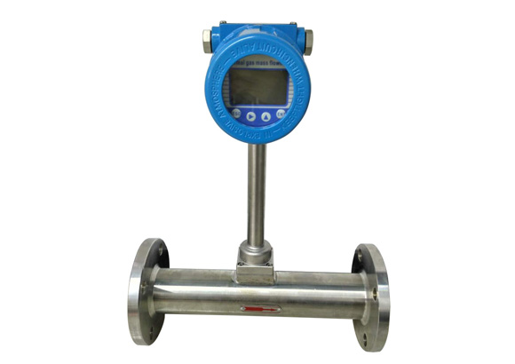 Features of thermal mass flowmeter