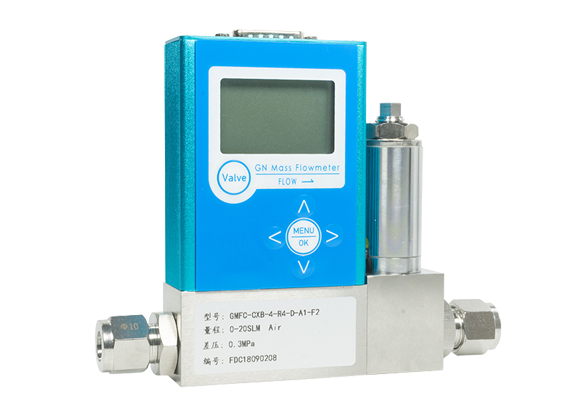 Gas mass flow controller