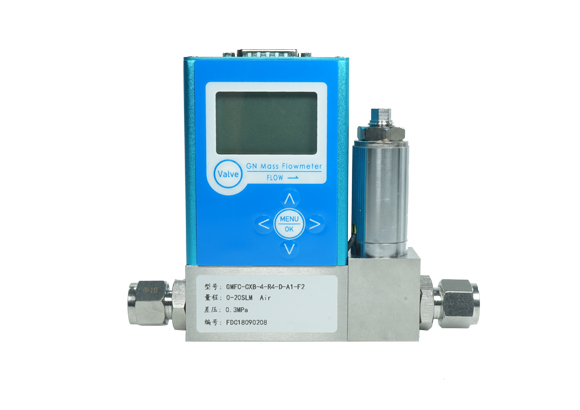 Digital gas mass flow controlle