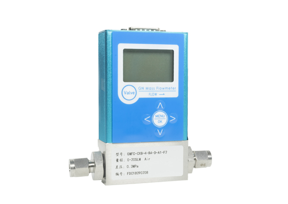 Digital gas mass flowmeter
